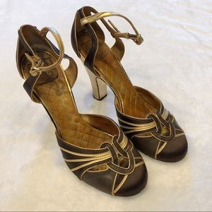 Tory Burch | Brown Heels Sz 9